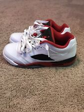 Jordan 5 fire red low Size 7