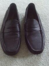 Black | Mens Adam Derrick Leather Loafers | Size 9 1/2 | Excellent Condition