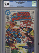 ALL STAR SQUADRON #22 MT 9.8 CGC HIGHEST 1 OF 1 CANADIAN PRICE VARIANT ORDWAY CO