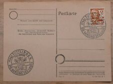 Mayfairstamps Germany 1949 Tuttlingen Manner Gesang Verein Cancel Postal Card ww