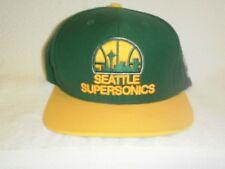 MITCHELL & NESS--SEATTLE SUPERSONICS--NBA HARDWOOD CLASSICS--SNAPBACK CAP