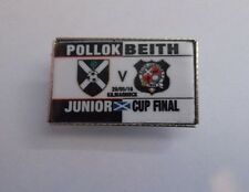 POLLOK FC VS BEITH FC BADGE JUNIOR CUP FINAL 2016