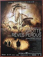Affiche LA GROTTE DES REVES PERDUS Cave of forgotten dreams HERZOG 40x60cm *