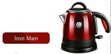 Red Mini Stainless Steel Capacity 0.8L Home Kitchen Electric Kettle