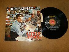 LITTLE TONY - EP FRENCH VOGUE DURIUM 95160 - LISTEN - BEAT ITALIAN - SAN REMO 67