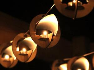 Hanging Lantern String Lights