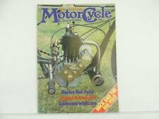 Vintage Feb 1984 CLASSIC MOTORCYCLE Magazine Harley Sunbeam Indian L5154