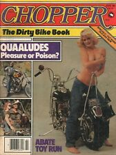 1980 February Chopper - Vintage Motorcycle / Biker Lifestyle Magazine