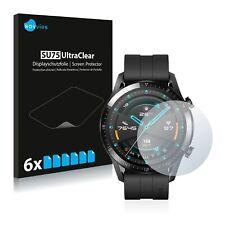 6x Huawei Watch GT 2 (46 mm) Displayschutzfolie Klar Schutzfolie Displayfolie