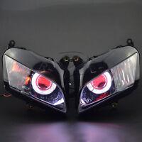 Fully Assembly Headlight Demon Angel Eye Projector Lamp F Honda CBR600 2007-2012