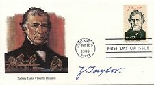 FIRST DAY OF ISSUE FDC / ETATS UNIS CHICAGO 1986 PRESIDENT ZACHARY TAYLOR