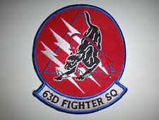 USAF 63rd Fighter Squadron PANTHERS Patch