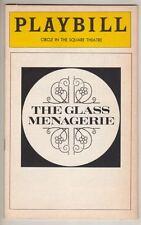 """The Glass Menagerie""  Broadway  Playbill  1975  Maureen Stapleton  &  Rip Torn"