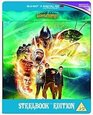 Goosebumps 3d 2d Steelbook Blu-ray UK BLURAY