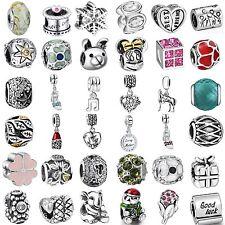 Enamel Charms Bead Pendant Fine European Jewelry Fit 925 Silver Bracelets Chain