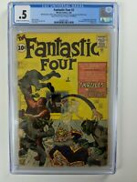 Fantastic Four #2 (1962) - 1st Skrulls!!! 2nd Fantastic Four! - CGC 0.5 - Key!!!