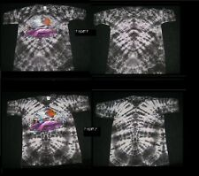 Original Zz Top Recycler Cadzilla Tie Dye Gray T Awesome Art L@K Large 2 Left