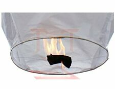 White Sky Fire Chinese Lanterns Flying Paper Wish Balloon for Wedding Festival C