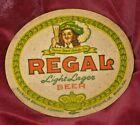 REGAL BEER COASTER Vintage New Orleans La Bottle Brewery