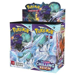 Chilling Reign Booster Box Display - Preorder for August Wave
