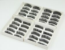 20 Pairs High Quality Thick False Fake Eyelashes Make Up Eyes Lashes with Glue