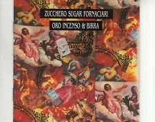 CD ZUCCHERO SUGAR FORNACIARIoro incenso & birraEX (A3041)