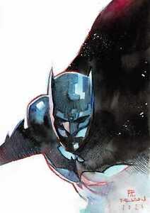 BATMAN di Dike Ruan - disegno originale