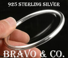 1SB-032 Hallmark Solid 925 Sterling Silver GOLF Bangle New Women Bracelet