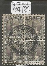 Malaya Jap Oc Perak SG J272 Block of 4 VFU (3cxt)