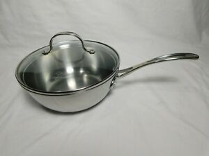 Calphalon SS Tri-Ply 3 qt Chef's Pan, 143 Stainless Steel