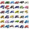 Cars Toys Lightning McQueen Mack Trucks Trailer Racer Metal 1:55 Loose Toy Cars