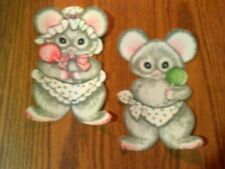 Cute Baby Mice - 2 - Iron-On Appliques