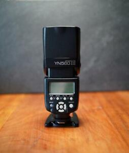 Yongnuo YN-560 Mark III - Systemblitz  S/N 53340830   auch für Sony