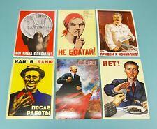 Propaganda poster. USSR. Set of 6 pocket calendars