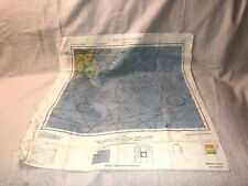 1944 WWII Hakodate (NK 54) Nemuro (NK 55) Japan AAF Cloth Chart Map US War Navy