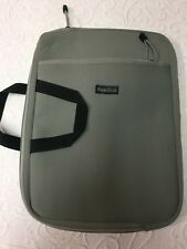 """Laptop/Table Carrying Case - Ellis Gray Soft Shell - 16"""" - Polyester"""