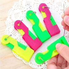 3X Automatic Needle Threader Thread Guide Elderly Use Device Sewing Random Send
