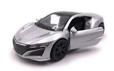 Maquette de Voiture Honda Nsx Hybride Sport Argent Auto Échelle 1:3 4-39