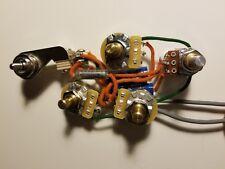 Left Handed Rickenbacker 4001/4003 Harness w/Vintage Tone - ROS w/SoZo Tone Caps