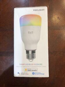 Yeelight Smart Bulb 1S E27 RGB LED Wifi Wireless Bluetooth Light APP Control