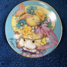 Avon 1995 Collectible Plate Commemorating The Easter Holiday~Spring Colors