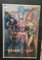 Harley Quinn: Villain Of The Year #1 J Scott Campbell Cover B Variant