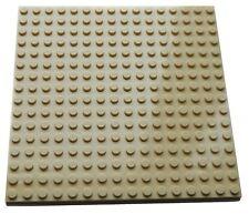 "LEGO Large Plate 16x16 5""x5"" TAN Flat Base 16 x 16 baseplate sand star wars"