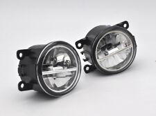 2x White LED Cree Fog Light Conversion Kit 6000K For Ford Mustang GT 2005-2014