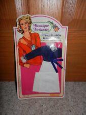 1978 BARBIE CLONE SHILLMAN BOUTIQUE FASHIONS DRESS NRFC MINT