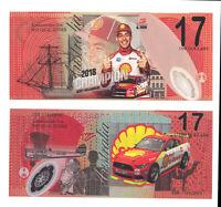 DJR Team Penske, Scott McLaughlin Supercars Mustang $17 Note,  Not Legal Tender