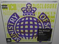 VA MINISTRY OF SOUND THE ANNUAL 2014 BRAND NEW SEALED 3CD FLOURO YELLOW COVER