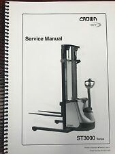 NEW Crown ST 3000 Series Service Manual Priority shipping