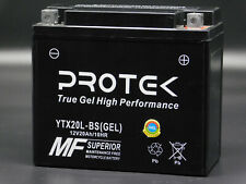 YTX20L-BS YTX20HL-BS 12V GEL Battery For 2002-2011 Honda VTX1800 C F N R S Retro