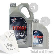 Car Engine Oil Service Kit / Pack 6 LITRES Fuchs GT1 PROFLEX XTL 5w-30 6L